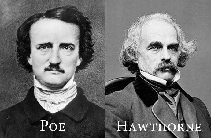 Poe y Hawthorne