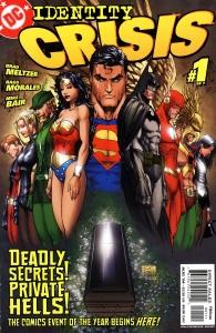 Crisis de Identidad, Dc Comics