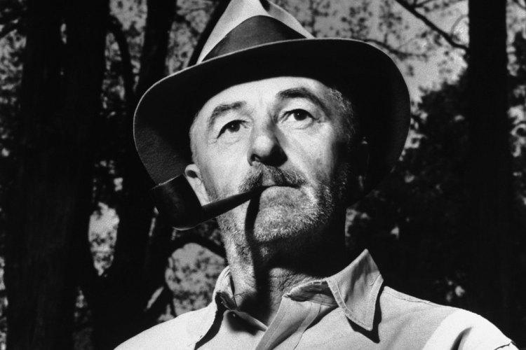 William Faulkner in Oxford, Mississippi in May 1955. (Bettmann / Corbis)